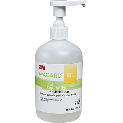3M Avagard™ Gel Instant Hand Antiseptic with Moisturizers, 16.9 oz.