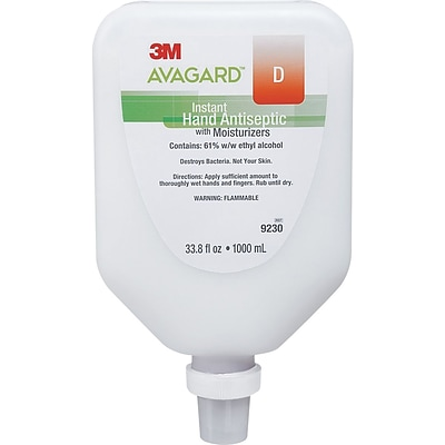 3M Avagard™ D Instant Hand Antiseptic with Moisturizers, 33.8 oz.