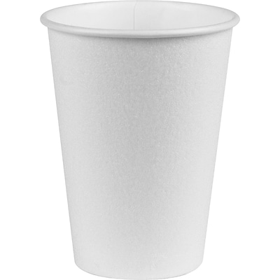 DIXIE/FORT JAMES Hot Paper Cups, 12 oz.