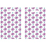 Medical Arts Press® Eye Care Scatter Print Bags, 9x13,  Eyes