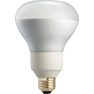 Philips 16W Warm White Compact Fluorescent R30 Light Bulb, 6/Pack (419977)