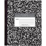 Roaring Spring Center Sewn Marble Cover Composition Book, 8 1/2 x 7, 48 Pages