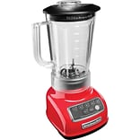 Classic 5-Speed Blender with 56 Oz. One-Piece BPA-Free Blend and Serve Pitcher; Empire Red