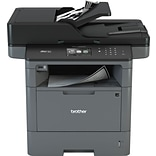 Brother MFCL5900DW Wireless Multifunction Monochrome Laser Printer with Single Pass Duplex Copy Scan