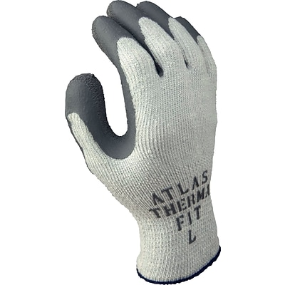 Showa® Thermo 451 Glove, Acrylic/Cotton/Polyester Knit with Latex Coated Palm, Size L, 12 Pairs/Pk