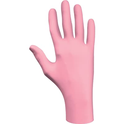 Best Manufacturing Company Pink Textured Fingers 1 Pair Disposable Glove XL