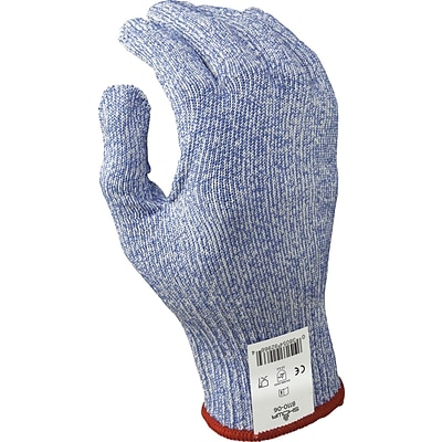 Best Manufacturing Company Blue & White Superior Cut Protection 1 pair Seamless Knit Glove