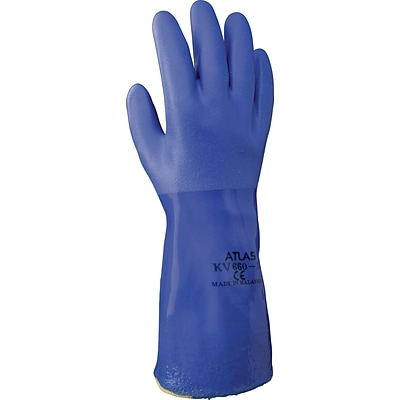 Best Manufacturing Company Blue Chemical Resistant 1 Pair Fully Coated Glove