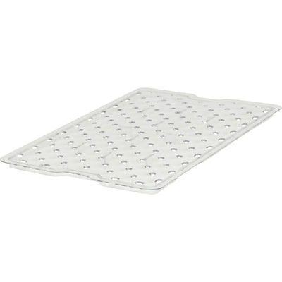 Rubbermaid® Drain Tray, For Food Box, 26x18 , Clear, 1 Each