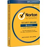 Norton Security Deluxe - 5 Devices for Windows (1 User) [Boxed]