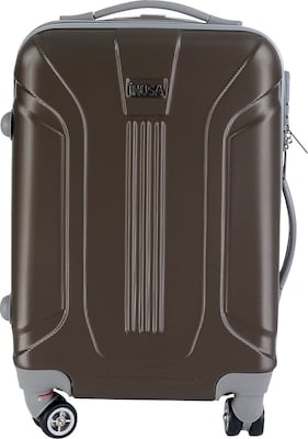 InUSA Boston Collection Brown lightweight ABS 18.3