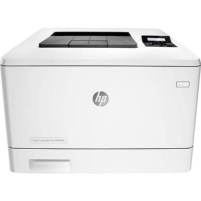 HP LaserJet Pro M452dn Color Laser Printer with Built-In Ethernet & Duplex Printing (CF389A)