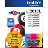 Brother® LC2013PKS TriColor Ink Cartridge, Multi-pack (3 cart per pack)