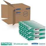 Kimberly-Clark ® Kimtech Science ® Kimwipes ® Task Wipe, Unscented, White, 16.6(W) x 14.7(L)