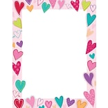 Great Papers Dancing Hearts Letterhead, 80/CT