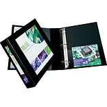Avery(R) Framed View Binder with 2 One Touch EZD(TM) Rings 68032; Black