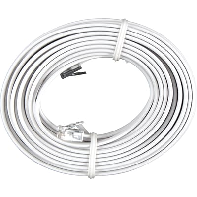 GE Cord Management, Line Cord, 25 Ft., White