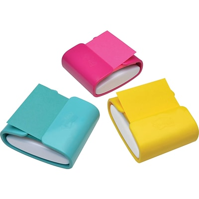 Post-it® Pop-up Note Dispenser for 3 x 3 Notes, Assorted Colors (WD-330-COL)