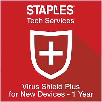 Virus Shield Plus for New Devices 1-Year (Online Delivery)