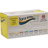 Sup-R Band® Latex-Free Exercise Band; Yellow, X-Light, 6 Yard