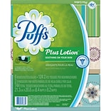 Puffs Plus Lotion Facial Tissue, 6 Boxes