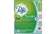 Puffs® Plus Lotion Facial Tissues; 2-Ply, 6 Boxes/Pack