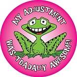 Medical Arts Press® Chiropractor Stickers,  Frog