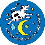 Medical Arts Press® Chiropractor Stickers,  Cow