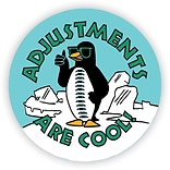 Medical Arts Press® Chiropractor Stickers,  Penguin