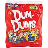 Dum Dum Pops®, 200/Bag, 6/CT