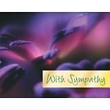 Medical Arts Press® Illusions Note Cards;  Sympathy, Personalized