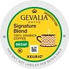 Gevalia Kaffe® Signature Blend Decaf Coffee, Keurig® K-Cup® Pods, Light Roast, Decaffeinated, 24/Box