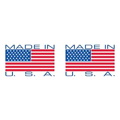 2 x 110 yds. - Made in USA Tape Logic™ Pre-Printed Carton Sealing Tape, 36/Case