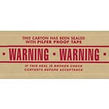 3x450 Pre-Printed Warning Reinfrcd Tape