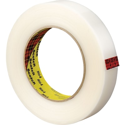 3M 864 Filament Tape, 1 x 60 yds., 18/Case