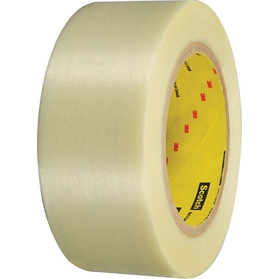 3M 898 Filament Tape, 3 x 60 yds., 3/Pack
