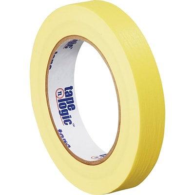Intertape® PF3 Yellow Masking Tape, 3/4 x 60 yds., 48/Case