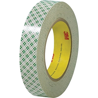 Scotch® #410 Double Sided Masking Tape, 1 x 36 yds., 36 Rolls/Case