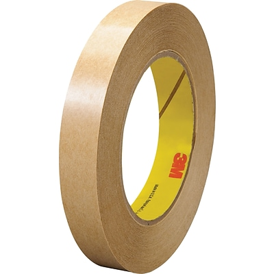3M 465 Adhesive Transfer Tape- Hand Rolls, 3/4 x 60 yds., 6/Pack