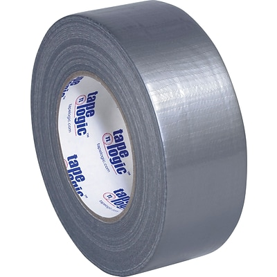 Cloth Utility Duct Tape, Silver, Utility Grade, 2 x 60 yrds, 24/Case