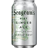 Seagrams® Diet Ginger Ale, 12 oz. Cans, 24/Pack