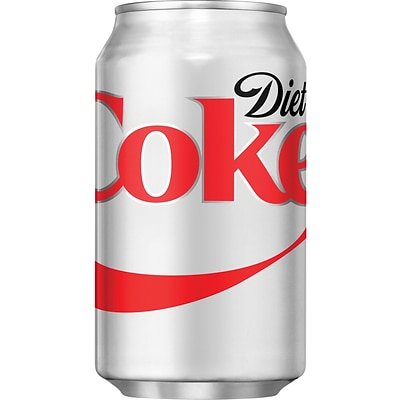 Diet Coke®, 12 oz. Cans, 12/Pack, 2 Packs/Carton