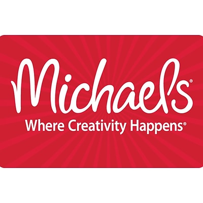 Michaels Gift Card $50