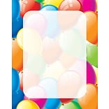 Great Papers® Balloon Border Letterhead 80 count