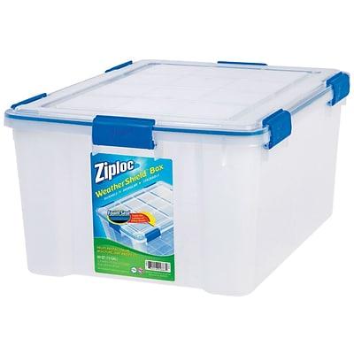 Ziploc 60 Quart WeatherShield Storage Box 4/Pack (394016)  sc 1 st  Quill.com & Ziploc 60 Quart WeatherShield Storage Box 4/Pack (394016) | Quill.com