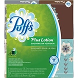 Puffs Plus Lotion Face Tissue 1Ply 56bx 4pk
