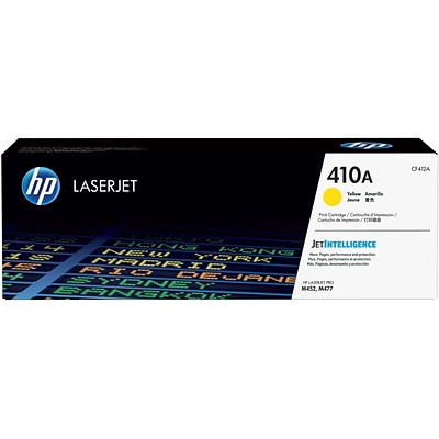 HP 410A Yellow Toner Cartridge (CF412A)