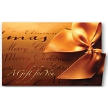 Holiday Expressions® Holiday Coupon Cards; Gift Wrapped, Self-Seal Envelopes