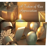 Holiday Expressions®, Holiday Token Coupon Cards With Gummed Envelopes