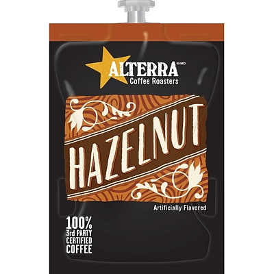 FLAVIA® ALTERRA® Hazelnut Coffee Freshpacks, 100/Carton (MDRAA185)